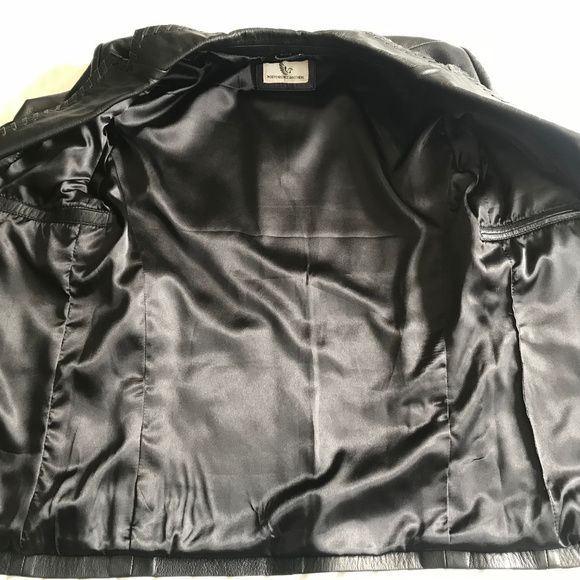 d4c35839b Independence Brothers Mens Leather Jacket